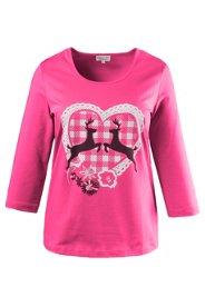 Gina Laura Shirt, elastische Baumwollqualität, ...