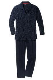 Ulla Popken Schlafanzug mit Knopfleiste von CECEBA - Große Größen