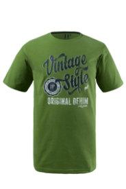 Ulla Popken T-Shirt Vintage-Druck - Große Größen