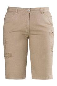 Ulla Popken Stretch Twill Bermuda Shorts
