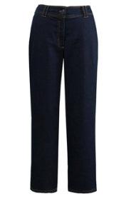 Ulla Popken Marlene-Jeans, weites, gerades Bein, Stretchkomfort - Große Größen
