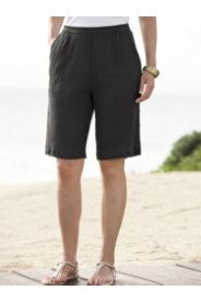 Ulla Popken Tropi-cool Gauze Shorts