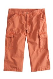 Pantalon 3/4 cargo, regular fit