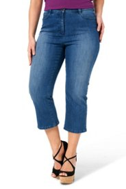 Figure Shaping Ankle Jeans