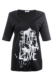 "Shirt mit Aufdruck ""In Love"""