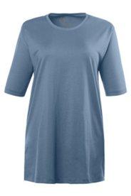 Basic-T-Shirt, Rundhalsauschnitt, 100% Baumwolle