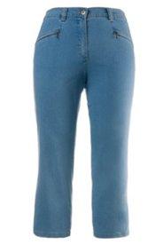 """Jeans """"Mony"""", wadenlang, teilelastischer Bund"""