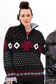 Pullover im trendigen Norweger-Stil