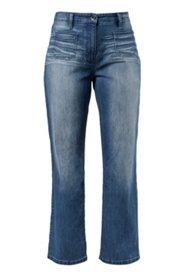 Marlene-Jeans mit modischen Fronttaschen