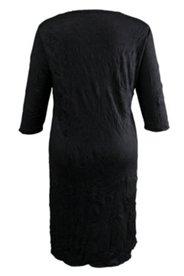Kleid, Material-Mix, ¾ Arm arm
