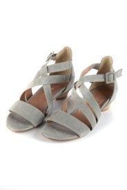 Sandalette mit überkreuzten Riemen