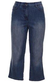 Bodyforming-7/8-Jeans mit Gürtelschlaufen