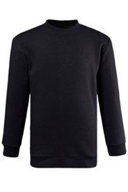 Sweatshirt, bequem geschnitten, Rundhalsausschnitt, eleastische Bünchen