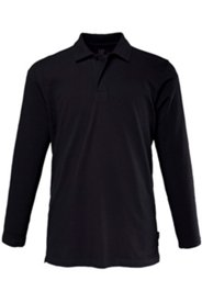 Langarm-Poloshirt, Pikee-Qualität