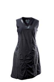 Sommerkleid mit V-Ausschnitt, ärmellos