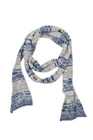 Schal aus reiner Baumwolle, geringelt