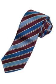 Krawatte, reine Seide, Streifenmuster