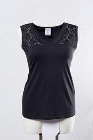 Hemdchen, 2er-Pack, breite Spitzenträger