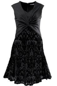 Kleid, schwarz, mit Softcups