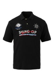 Halbarm-Poloshirt aus hochwertigem Pikee-Jersey