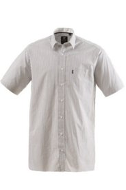 Halbarm-Streifenhemd, Comfort Fit