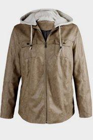 Jacke in Kurzform mit Strasssteinen, elastisch