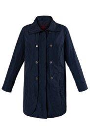 Mantel mit Stehkragen und 2-Wege-Zipper