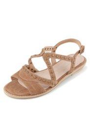 Sandalette aus Ziegenleder, Weite H