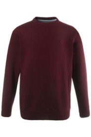 Pullover reine Baumwolle, Rundhals