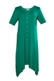 Kleid mit Zipfelsaum, A-Linie