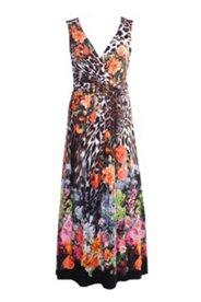 Sommerkleid in Wickeloptik, mit Zierschnalle