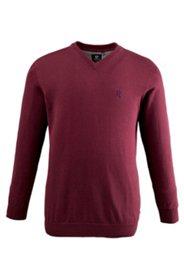 Pullover mit V-Kragen, Pima Cotton