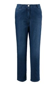 Jeans, 5-Pocket, gerades Bein