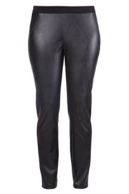 Leggings in Lederoptik, Rundum-Gummibund