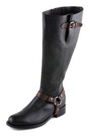 Stiefel mit abnehmbarer Schnalle, Weite H
