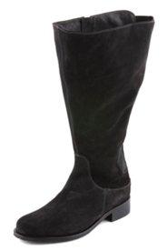 Stiefel mit Stretcheinsatz, Weite H