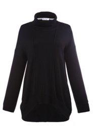 Pullover, langes Modell mit Rollkragen