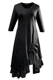 Kleid, raffiniert geschnitten