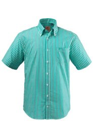 Halbarm-Streifenhemd, Modern Fit