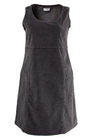 Kleid aus Cord, leicht tailliert