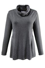 Pullover mit Stehkragen, A-Linie