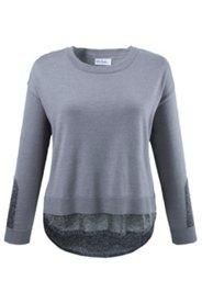 Pullover mit Metallic-Effekt, weites Modell