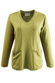 Pullover mit Taschen, Feinstrick