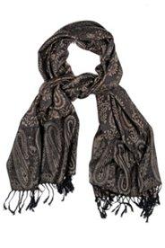 Schal mit gewebtem Paisleymuster