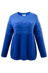 Pullover mit Norwegermustern