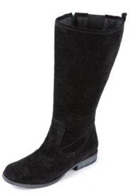 Stiefel aus Veloursleder, Weite H