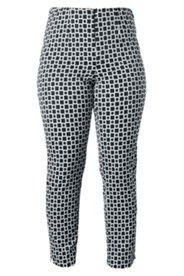 Hose mit geometrischem Muster, Stretch