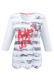 Shirt mit Stretchkomfort, A-Linie