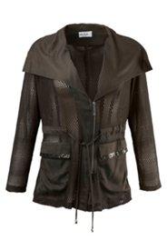 Jacke in Mesh-Qualität, viele raffinierte Details