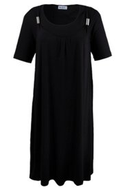 2-in-1-Kleid, A-Linie mit Stretchkomfort